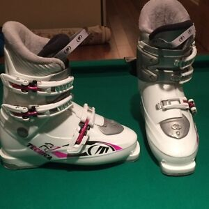 White Technica Youth Ski Boots