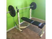Weight Bench, free. Please read.