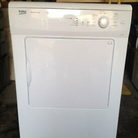 Beko DVS64 6kg White Sensor Drying Vented Tumble Dryer 1 YEAR GUARANTEE