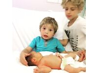 Mother's Help needed for a baby and four year old boy -- excellent London accommodation