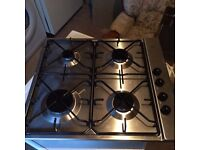 Bosch stainless steel 4 ring gas hob