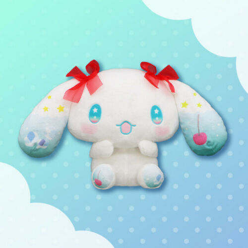 RARE Cinnamoroll BIG Plush doll Cream Soda ver. Limited to JAPAN 2021 14in