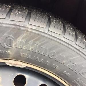 Continental winter tires and rims