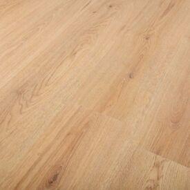 163m2 of oak laminate (pallet of oak laminate flooring) 56 boxes