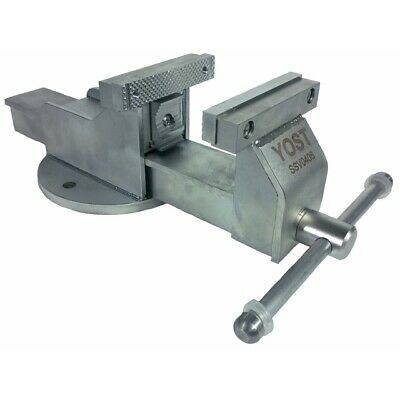 Yost 4 Stainless Steel Combination Pipe And Bench Vise Stationary Base