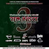 3rd edition of reminisce the best in rnb hiphop reggae party