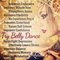 LEARN TO BELLYDANCE !