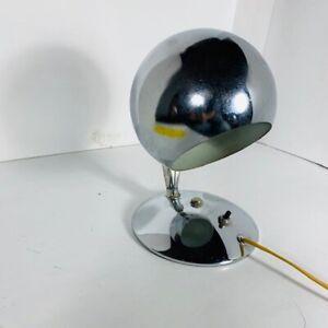 DESIGNER LAMP - Chromée - artistic style 1970's