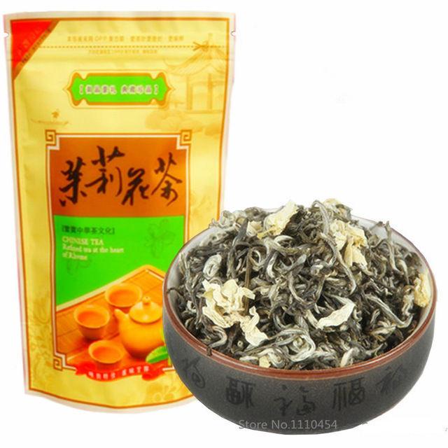 50g Vorfrühling Hohe Qualität Floral Jasmin Tee Frische Tee Fragrance Kräutertee