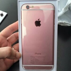 iPhone rose gold 6s