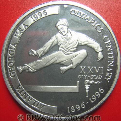 1996 TANZANIA 2000 SHILINGI ERROR ALUMINUM PROOF TAEKWONDO MINT=25 COINS! REEDED