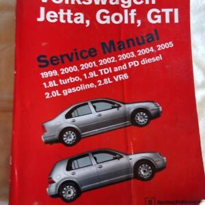 BENTLEY PUBLISHING A4 VOLKSWAGEN SERVICE MANUAL JETTA, GOLF, GTI