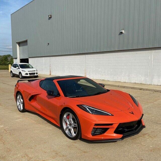 2020 Orange Chevrolet Corvette   | C7 Corvette Photo 4