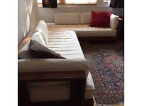 Habitat wooden framed sofa beds excellent condition