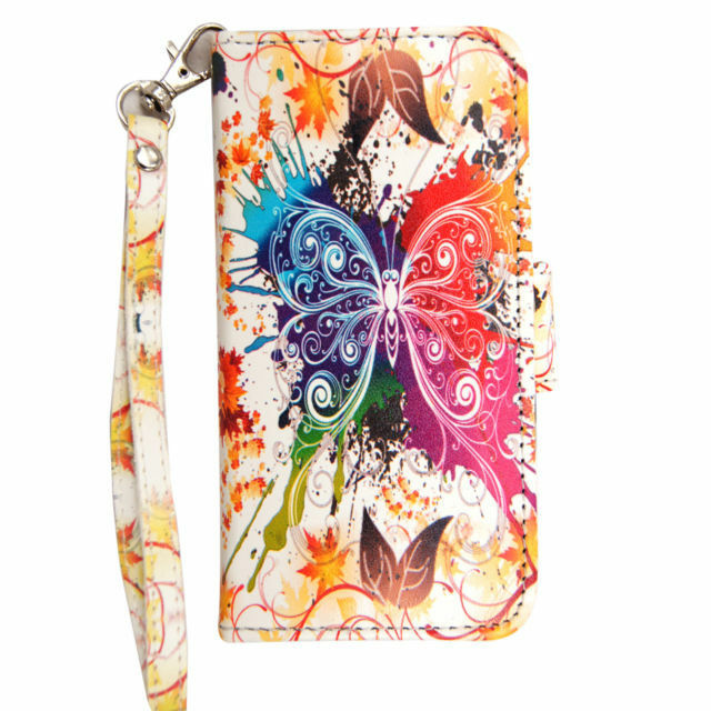 Printed Leather iPod Wallet Cases
