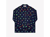 KENZO x H&M Patterned silk blouse