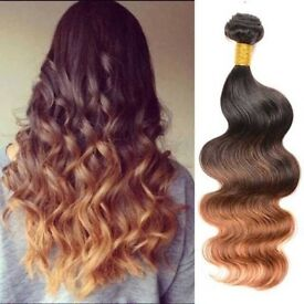 Hair extensions offered in different range of colours; work done via consultation.