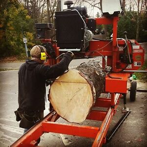Custom Portable Sawmill Service. Great Rates, Quality Sawmilling Cambridge Kitchener Area image 7