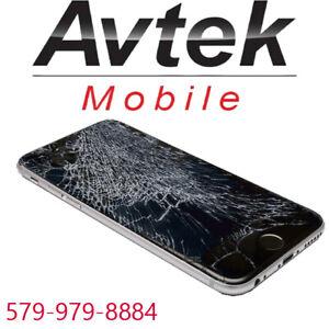 Vous avez cassé votre écran cellulaire? 579.979.8884