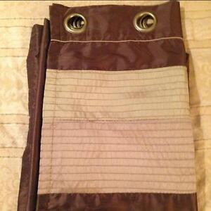 """Double-lined curtain panels [52"""" x 84""""]"""