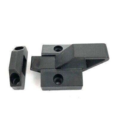 Door Latch Spring Loaded / Aluminum Profile Extrusion Accessory (2 Sets) Door Latch Spring