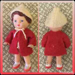 Vintage ARI Rubber Dollhouse Doll circa 1950's ~ Made in Germany
