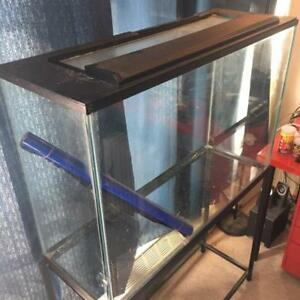 60 Gal Real Glass Fish Tank Aquarium with Metal stand for Sale
