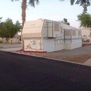 Westwind RV golf resort Yuma AZ 37ft park model