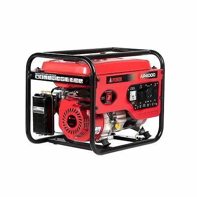 A-ipower 4000-Watt Portable Gasoline Generator with Manual Start AP4000