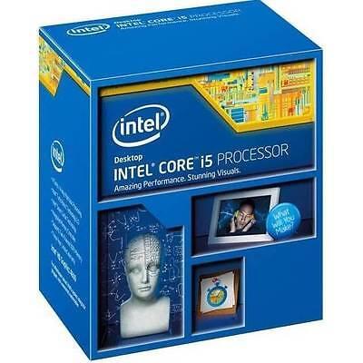 New Intel Core i5-4460 Haswell Processor 3.2GHz 5.0GT/s 6MB LGA 1150 CPU, Retail