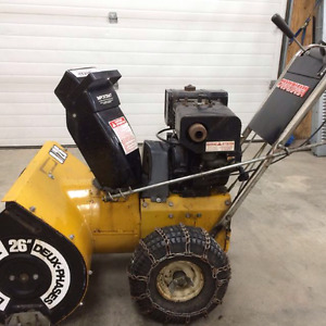 Canadian 8hp Electric start blower