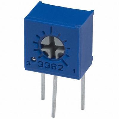 Bourns 3362 Series Trimmer Potentiometer Trimpot 100 Ohms Side Adjust
