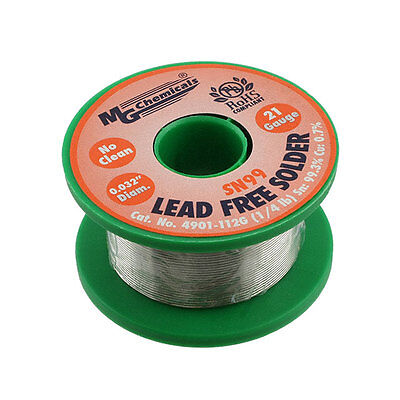 Mg Chemicals 4901-112g Sn99 Lead Free Solder