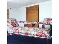 MODERN & TRADITIONAL UPHOLSTERY / FABRIC RE-COVERING / BESPOKE HEADBOARDS AND FOOTSTOOLS