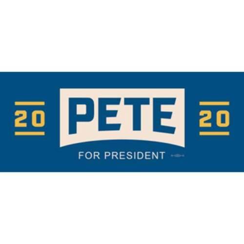 Pete Buttigieg For President 2020 Bumper Sticker