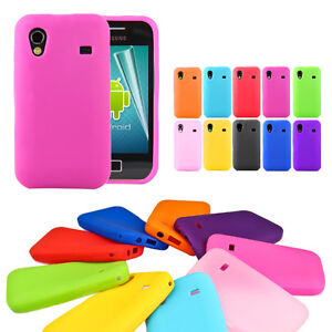 Jelly Soft Silicone Skin Case Cover For Samsung Galaxy Ace S5830