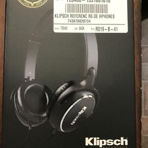 KLIPSCH REFERENCE R6 ON-EAR HEADPHONES (R6ONEAR)
