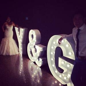 XL Letters - Big Light Up Letters (hire only) Welland Charles Sturt Area Preview