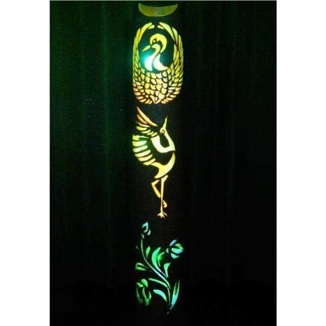 Original Design Japanese Bamboo Lamp Lanterns Color Series- Flying- made from Jp