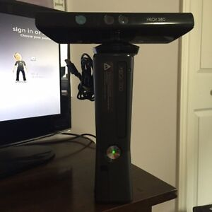 Xbox 360 with Kinect + Minecraft and other games
