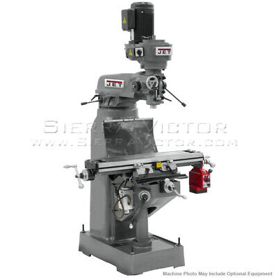 Jet Jtm-1 Step Pulley Milling Machine 230v 3ph 690082