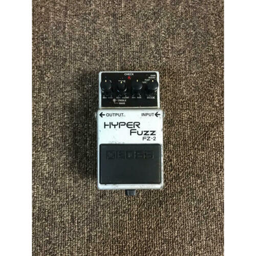 BOSS FZ-2 HYPER FUZZ Boss Guitar Instrument Effects Pedal Used Japan
