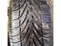 WINTER TYRES SET OF 4 195X60R15 on steel wheels