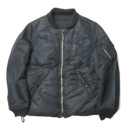 GANRYU Japan 09AW Reversible Nylon Down MA-1 Jacket ED-J001 M COMME des GARCONS