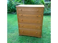 Chest of drawers (Stag)