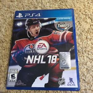 NHL18 for PS4