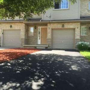 Spacious 3 Bedroom Freehold Town Home For Lease. Vacant