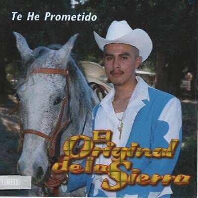 Jessie Morales El Original de La Sierra Te He Prometido CD New Nuevo Sealed