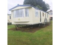 cheap starter static caravan for sale in south Devon lots to do on park pets welcome tq47jp