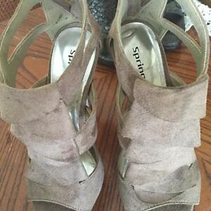 Elegant Women Sandals and Shoes Size 5- 5.5 - 6